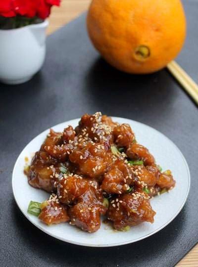 Braised Chicken with Orange