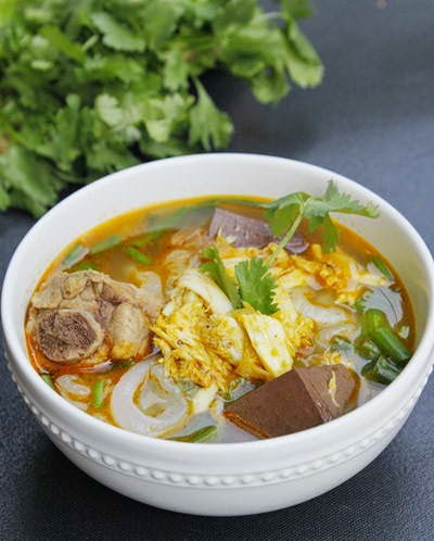 Clear Rice Spaghetti Soup with Crab Recipe