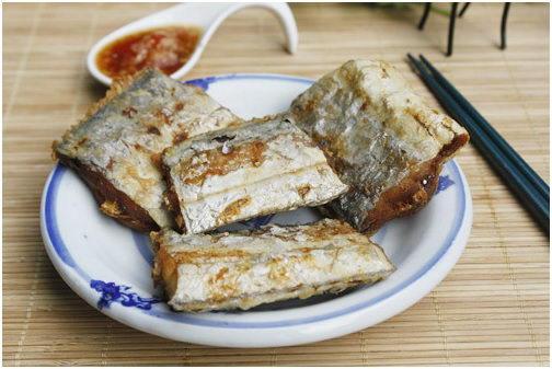 Deep Fried Belt Fish Recipe (Cá Hố Chiên Giòn)