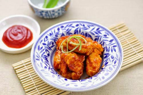 Deep Fried Pork in Sweet and Sour Sauce