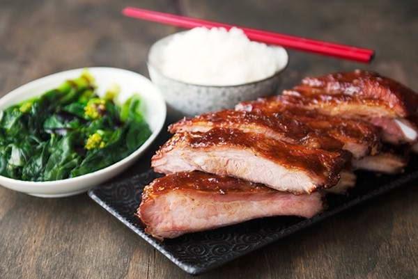 Grilled Pork Chop with Apple Juice