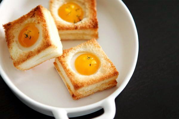 Grilled Sandwich with Egg