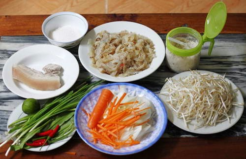 Jelly Fish Salad Recipe (Goi Sua)