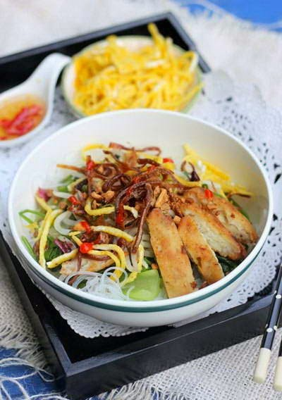 Mixture Glass Vermicelli with Dried Squid