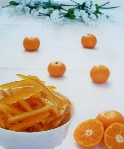 Orange Fruit Skin Jam