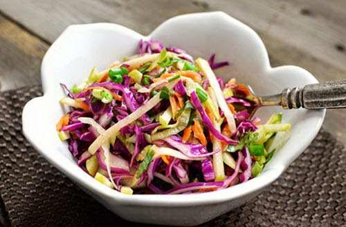 Salad Apple with Purple Cabbage Recipe