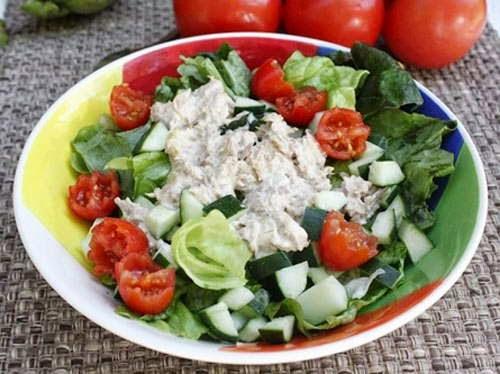 Salad Mackerel Fish Recipe (Salad Ca Ngu)