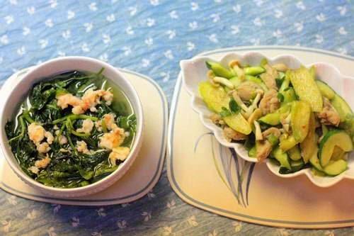 Sweet Potato Leaves Soup Recipe