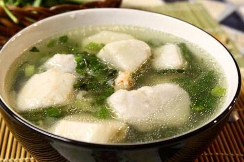 Taro Soup with Shrimps Recipe