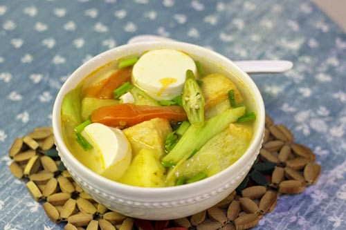 Vegetarian Sour Soup Recipe