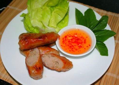 Vietnamese Grilled Chopped Pork Stick