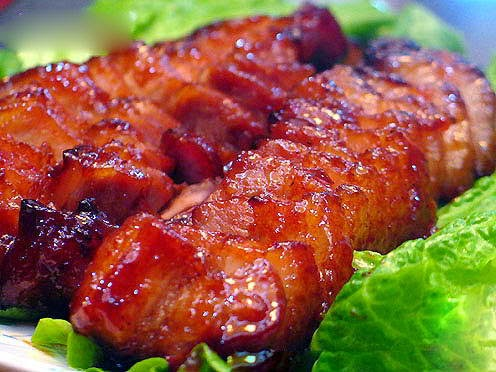 Vietnamese Sandwich with Char Siew